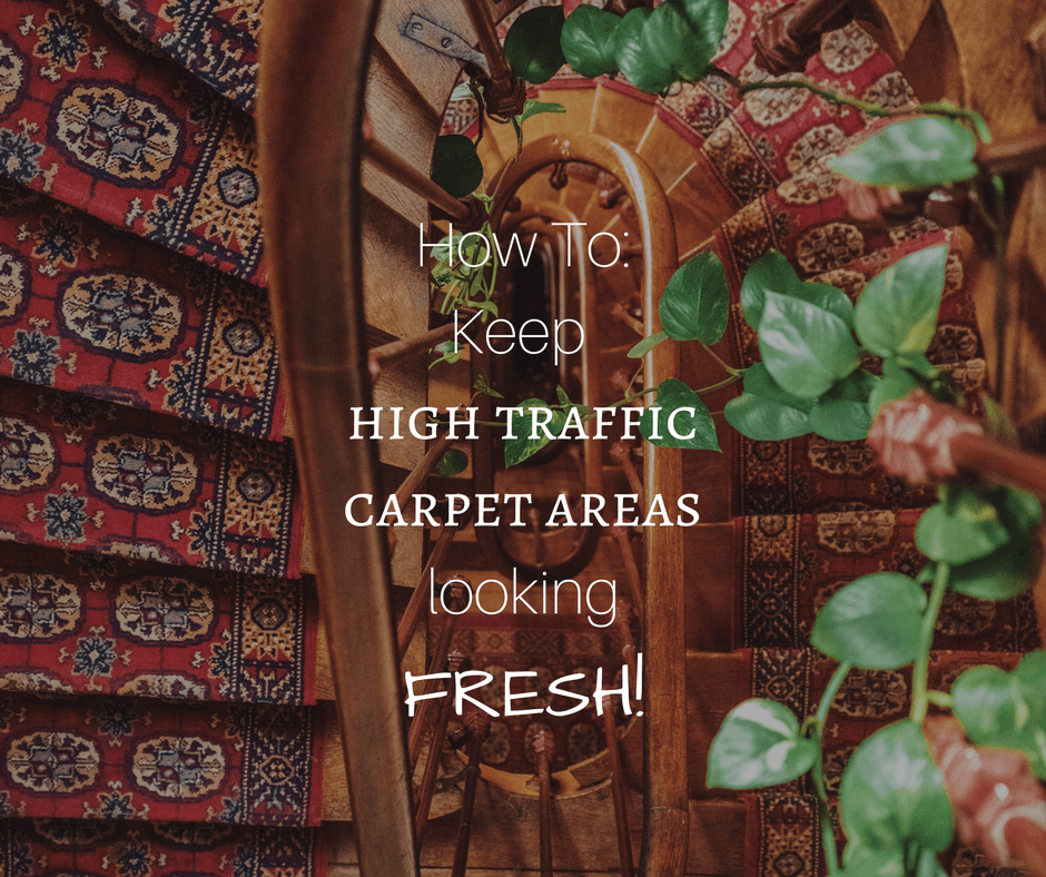 Three Quick Tips to Keeping High Traffic Carpet Areas Fresh